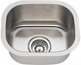 Stainless Steel Undermount Small Single Bowl Sink