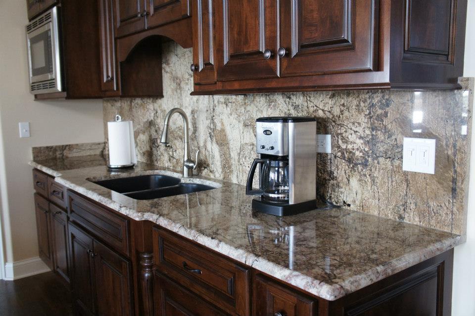 homer glen | granite countertops - insignia stone - kitchen projects