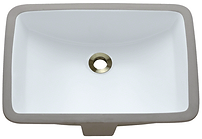 Porcelain Rectangle Vanity Sink