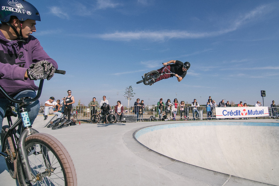 Berry Skate Plazza / épreuve de BMX