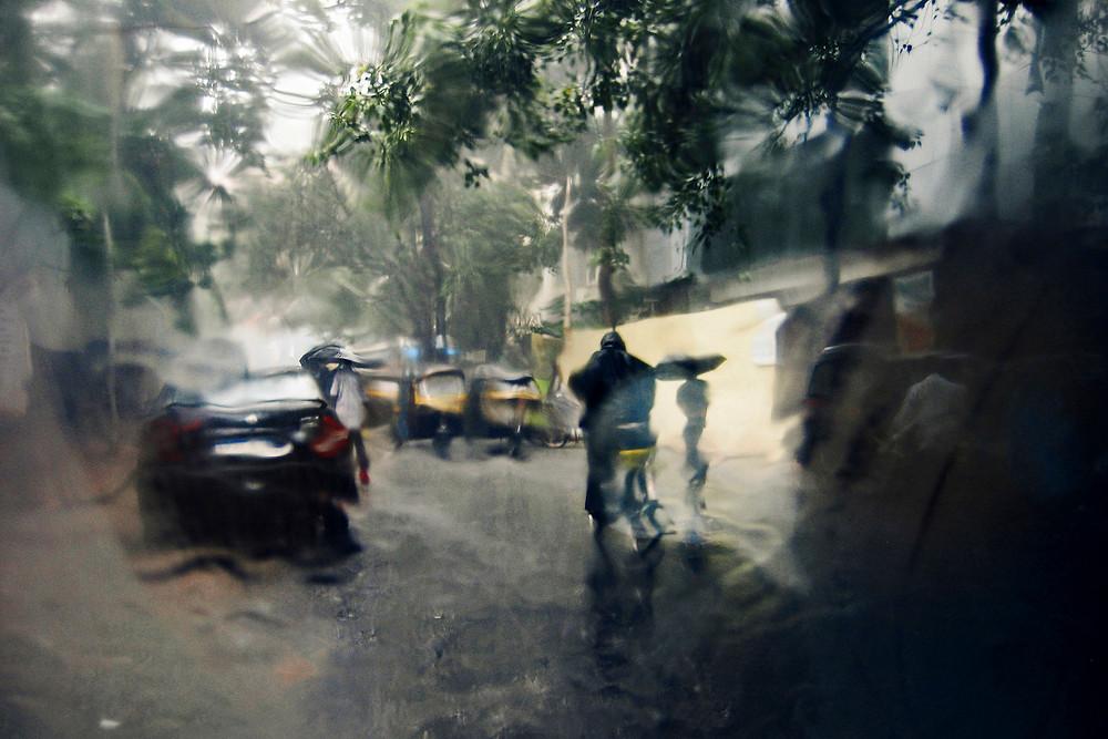 Série Monsoon Feelings - Mumbai, 2009-2010 © Thierry Vincent