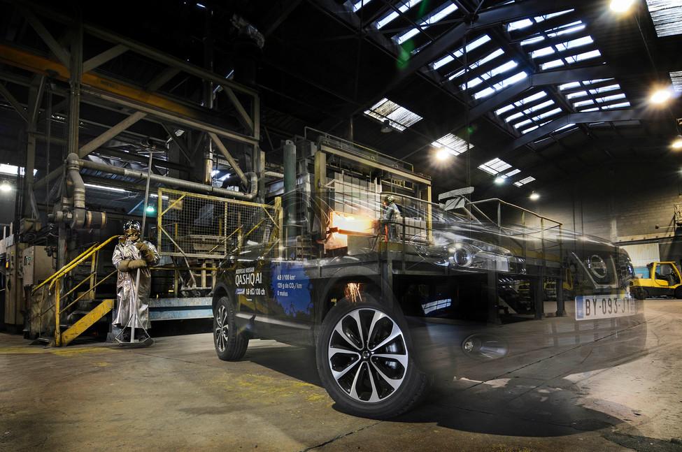 Fabrication de roues en fonte d'aluminium