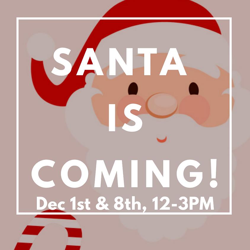 Photos with Santa: December 8th