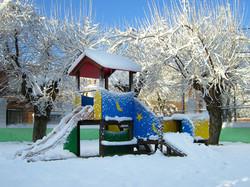 Parque infantil casa rural en toledo