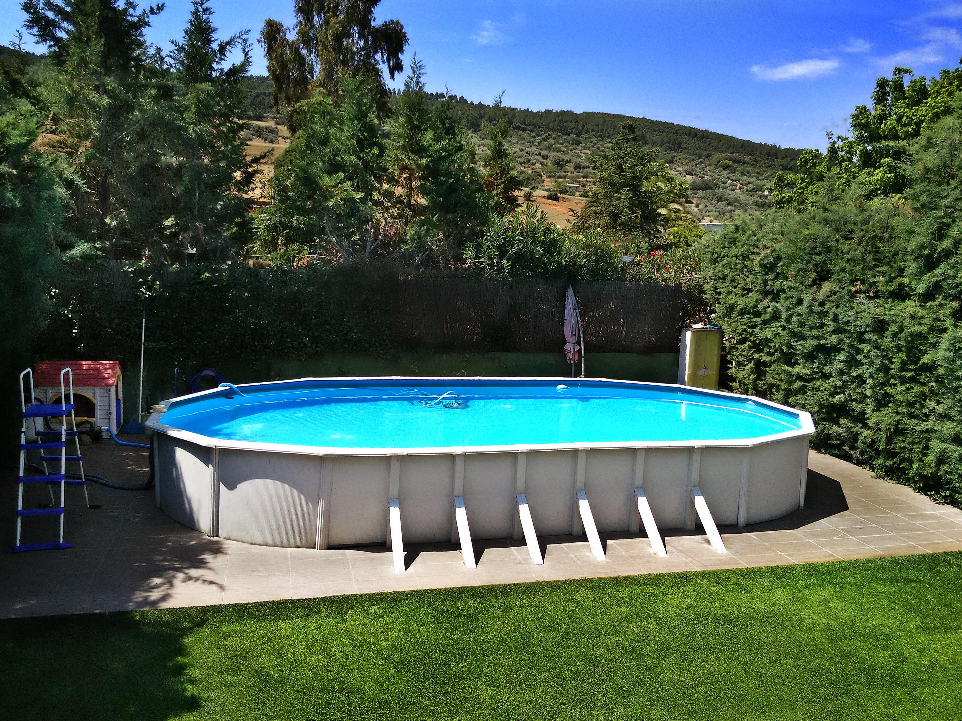 piscina casa rural en toledo