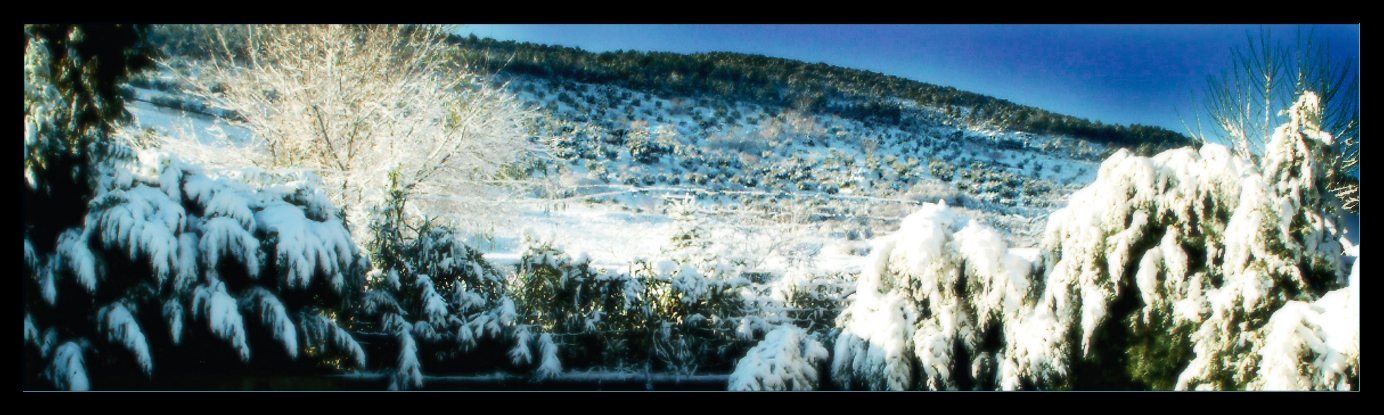 campos en invierno casa rural en tol