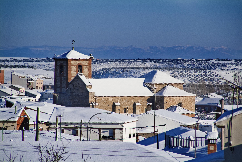 Iglesia casa rural en toledo