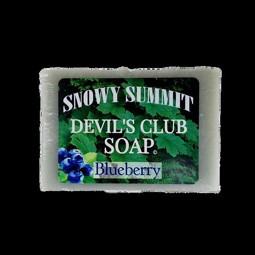 Devil's Club Soap Blueberry