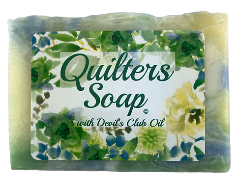 Quilters Soap with Devil's Club Oil