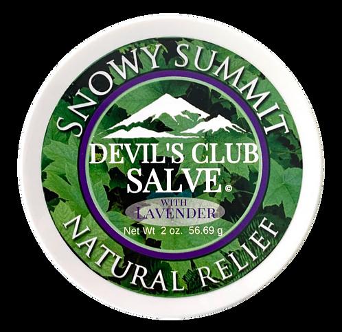 Devil's Club Salve w/Lavender