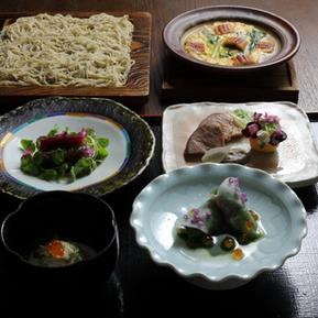 日本料理と蕎麦 魚哲 新潟県長岡市 コース料理 会食 手打ち蕎麦