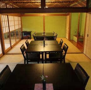 日本料理と蕎麦 魚哲 新潟県長岡市 コース料理 会食 手打ち蕎麦 小座敷