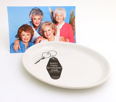 Shady Pines (Golden Girls) Key Plate