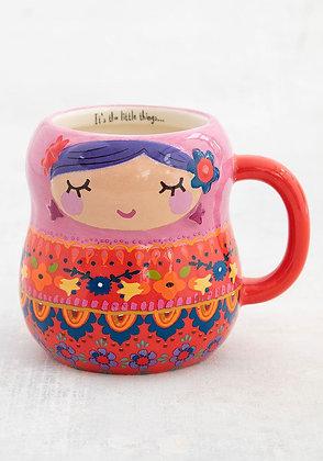 Folk Mug Nesting Doll Mug