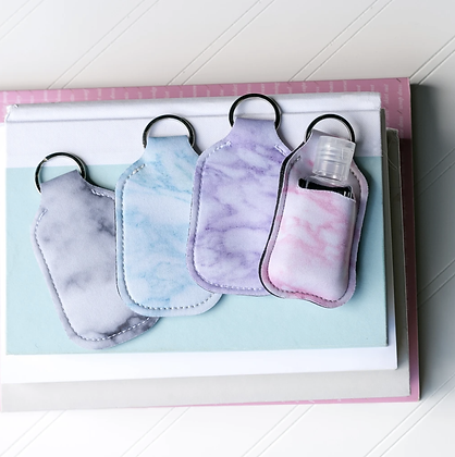 Hand Sanitizer Case with Keyring