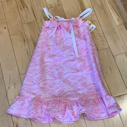Light Pink Marbled Sundress - Size 4/5