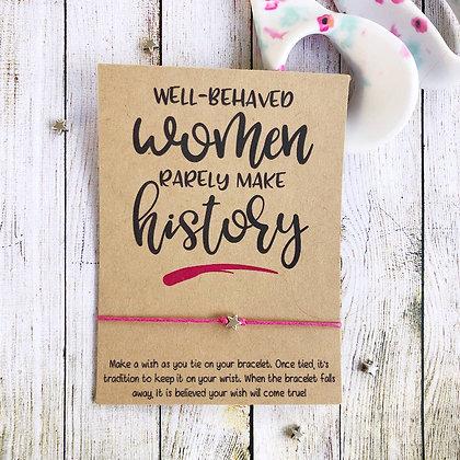 Well Behaved Women Wishlet