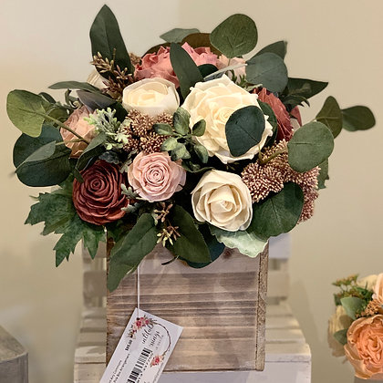 Large Pink Box Arrangement (5023)