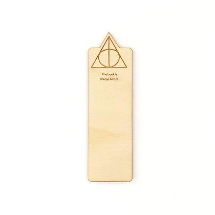 Always Better Wood Bookmark