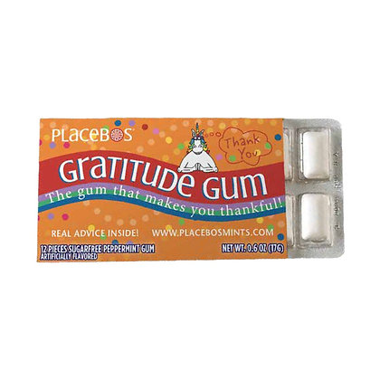 Gratitude Gum: The gum that makes you thankful!