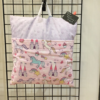 Unicorn Backpack Pillow