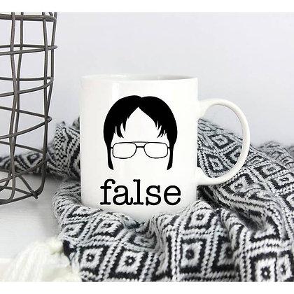 "False ""The Office"" mug"