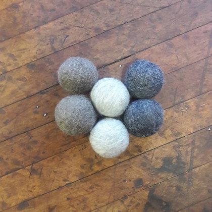 Zero Waste Dryer Balls - Greys