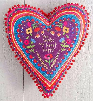 Happy Heart Pillow