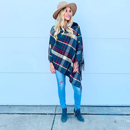 Buttoned Wraps