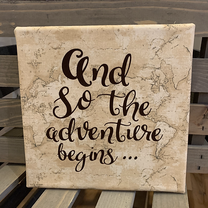 And so the adventure begins (canvas)