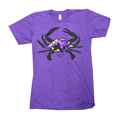 Maryland Crab Purple/Gold T-Shirt
