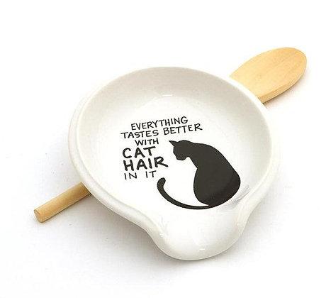 Cat Hair Spoon Rest