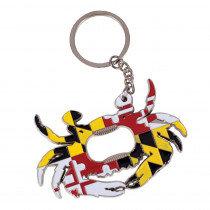 Crab Bottle Opener Keychain