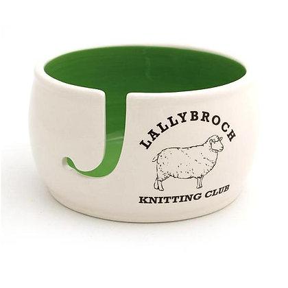 Lallybroch Knitting Club Yarn Bowl