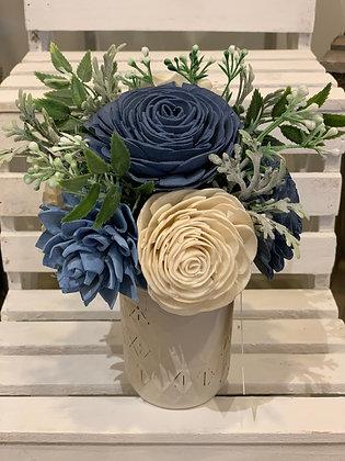Small Blue Arrangement