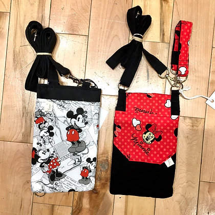 Mickey & Minnie Crossbody Purses