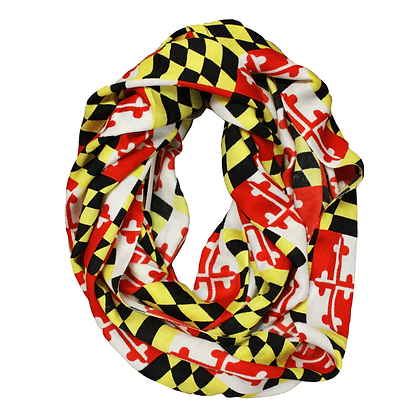 Maryland Flag Infinity Scarf