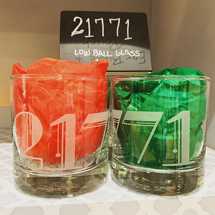 21771 Low Ball Glass