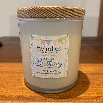 Twindles Candle: Birthday
