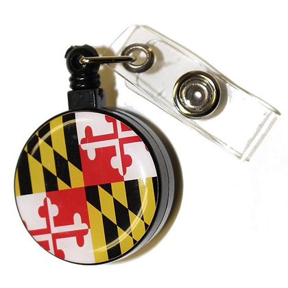 Maryland Retractable Badge Holder