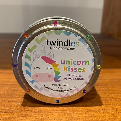 Twindles Candle: Unicorn Kisses