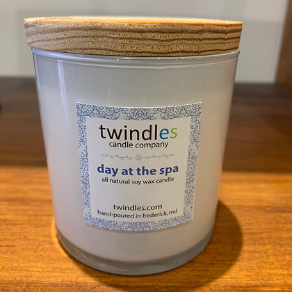 Twindles Candle: Day Spa