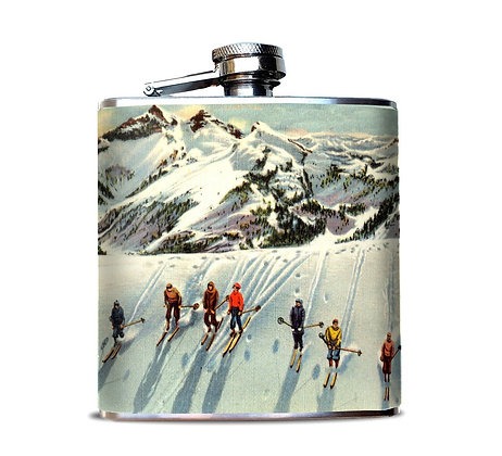Skiers Hip Flask