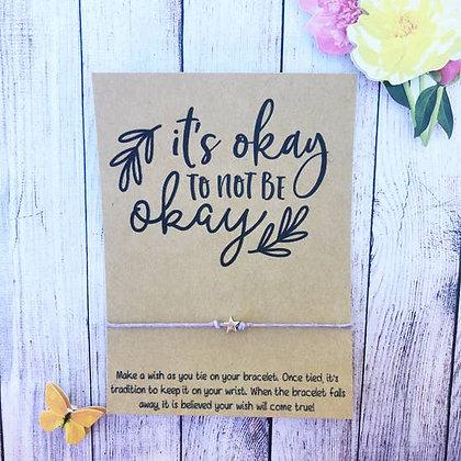 Okay To Not Be Okay Wishlet