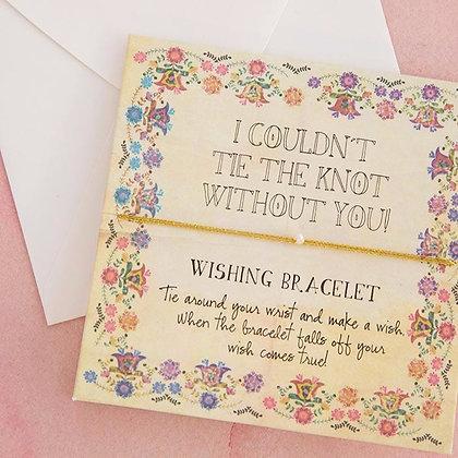 Bridal Wishing Bracelets