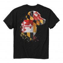 Maryland Flag Lab T-Shirt