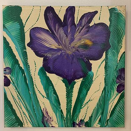 Purple Flower (#34)
