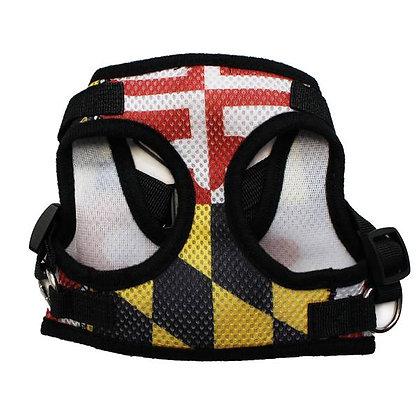 Maryland Flag Dog Harness