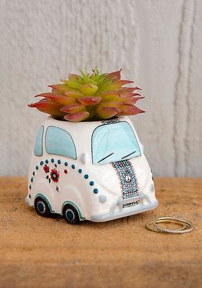 Car Critter Faux Succulent