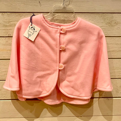 Girl's Pink Poncho - Size 4/5